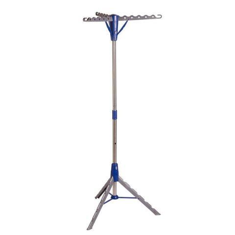 Honey-Can-Do DRY-02118 Folding Tripod Air Drying Rack, Gray/Blue