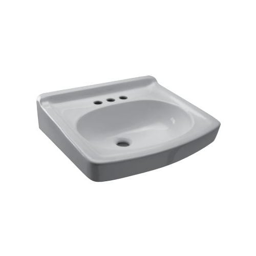 Zurn Z Z Commercial Wall Mounted Bathroom Sink With Single - Commercial wall mounted bathroom sinks