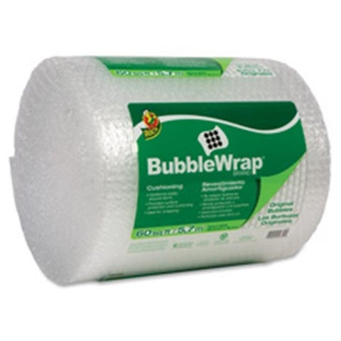 Duck Brand DUCBW60 Protective Bubble Wrap Packaging Reusable