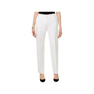 Tommy Hilfiger Womens Fairfield Trouser Pants Linen Relaxed Fit