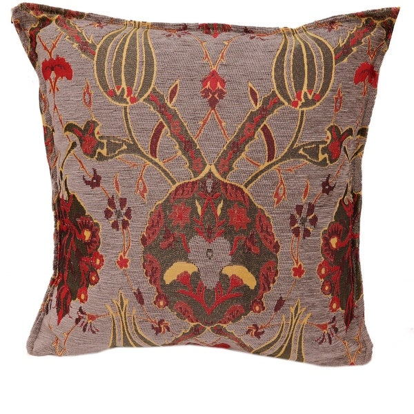 Melrose Peony Turkish Throw Pillow. Opens flyout.