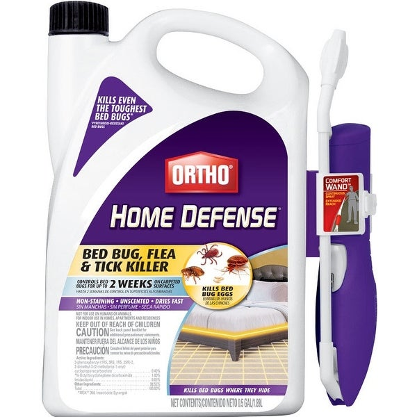 Ortho 0202510 Home Defense Insect Killer For Bed Bug, 1/2 Gallon