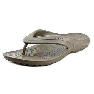 Crocs Classic Flip Open Toe Synthetic Thong Sandal