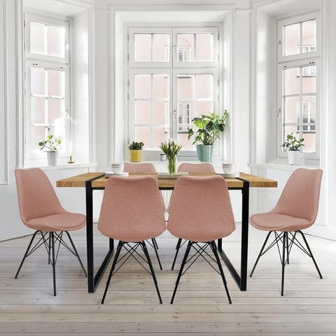 Dining Table Sets for 6 Wood Modern Kitchen Table