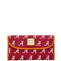 Dooney & Bourke NCAA Alabama Continental Clutch Wallet (Introduced by Dooney & Bourke at $128 in Jan 2015)