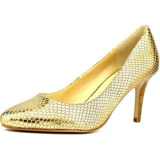 Cole Haan Lena Pump II Women Round Toe Leather Heels
