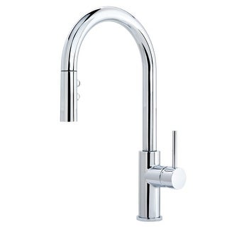 Miseno MK191 Gemma Pull-Down Multi-Flow Spray Kitchen Faucet - Includes Lifetime Warranty and Decora