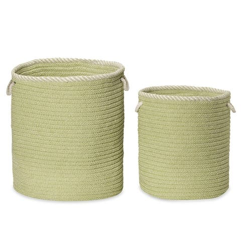 Soft Chenille Woven Hampers