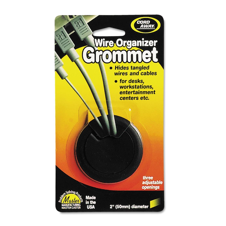 """Grommet, Adjustable, 2"""" Diameter, Black"""