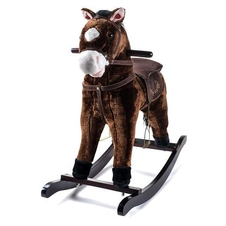 Link to JOON Rocking Horse Pony, Dark Brown Similar Items in Bicycles, Ride-On Toys & Scooters