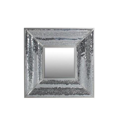 Privilege 88435 28 x 3 x 28 in. Beveled Square Mosaic Mirror