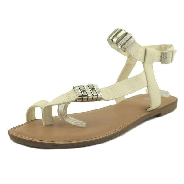 Bar III Verna White Sandals