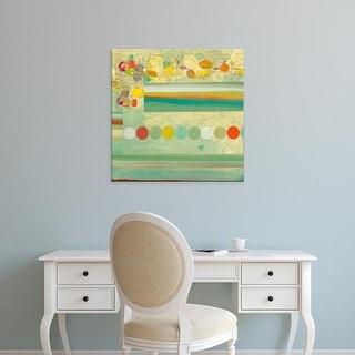 Easy Art Prints Jodi Fuchs's 'Orchestrate II' Premium Canvas Art