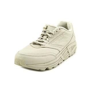 Brooks Addiction Walker Women 2A Round Toe Leather Tan Walking Shoe