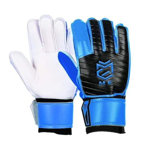 Latex Goalkeeper Gloves Roll Finger - L