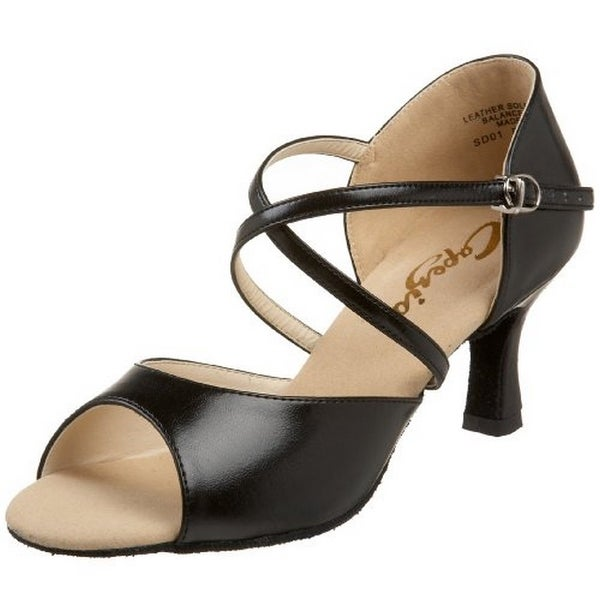 "Capezio Womens 2"" Eva Ballroom Heel"