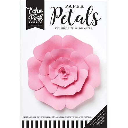 Medium Pink Rose - Echo Park Paper Petals
