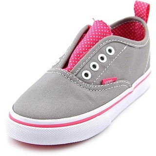 Vans Authentic V   Round Toe Canvas  Sneakers