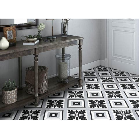 8x8 Industry Max Black porcelain floor & wall tile (10.76 Sq. Ft./ 25 pc box)