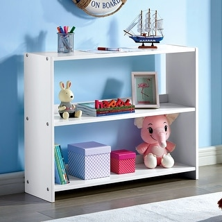 Link to Furniture of America Sosa Transitional White Bookshelf Similar Items in Kids' Storage & Toy Boxes