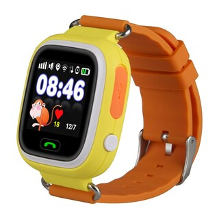 TechComm Q90 Kids GPS Smart Watch with Fitness Tracker for T-Mobile ONLY (Option: Yellow)