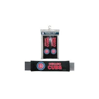 Fremont Die Inc Chicago Cubs Seat Belt Pad 2 Pack Seat Belt Pad