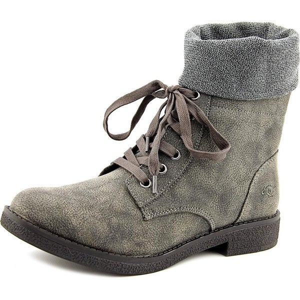 Rocket Dog Temecula Round Toe Canvas Mid Calf Boot