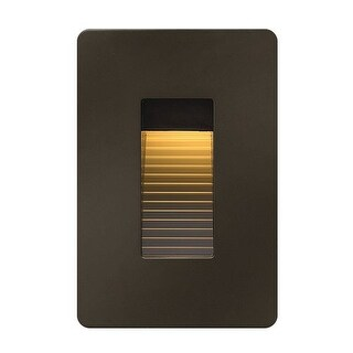 Hinkley Lighting 58504 1 Light ADA Compliant LED Outdoor Step Light from the Luna Collection