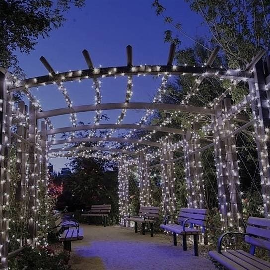 Liteup200 Solar Led String Lights White Or Multi Color Free Shipping On Orders Over 45 Overstock Com 18582867