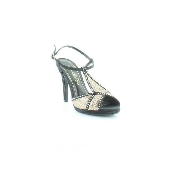 Caparros Ecstasy Women's Heels Black / Gold - 6.5