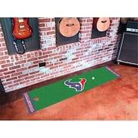 FANMATS 9013 Houston Texans Putting Green Runner 24 in. x 96 in.