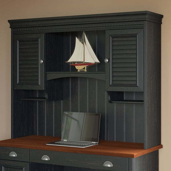 Copper Grove Hutch for Computer Desk. Opens flyout.