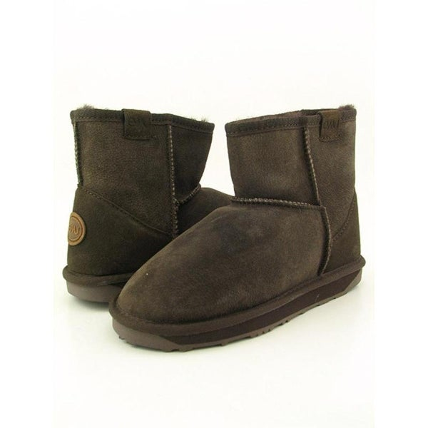 Emu Australia Stinger Mini Women Round Toe Suede Brown Snow Boot
