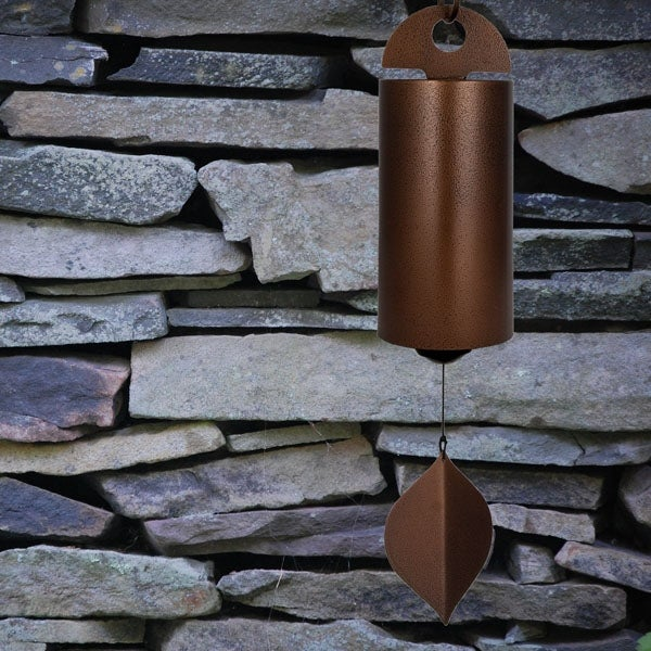 Woodstock Chimes Antique Copper Heroic Windbell - Large