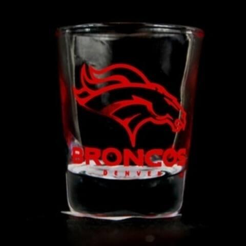 Denver Broncos Nfl Round Shot Glass - M