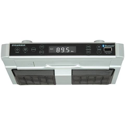 Sylvania Skcr2810Bt Bluetooth(R) Under-Cabinet Kitchen Radio
