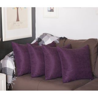 Purple pillow cover 26x26 pillow covers