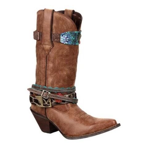 "Durango Boot Women's 12"" Accessorize Brown"