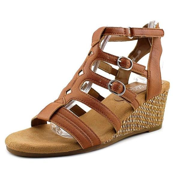 03e11e615093 Shop Aerosoles Sparkle Open Toe Leather Wedge Sandal - Free Shipping ...