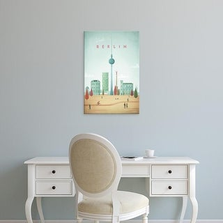 Easy Art Prints Henry Rivers's 'Berlin' Premium Canvas Art