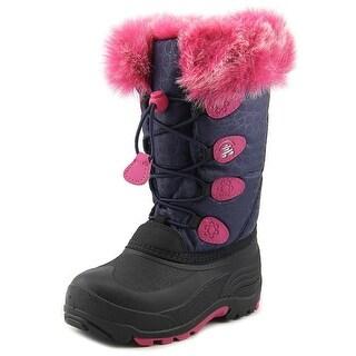 Kamik Snow Gypsy Round Toe Canvas Winter Boot