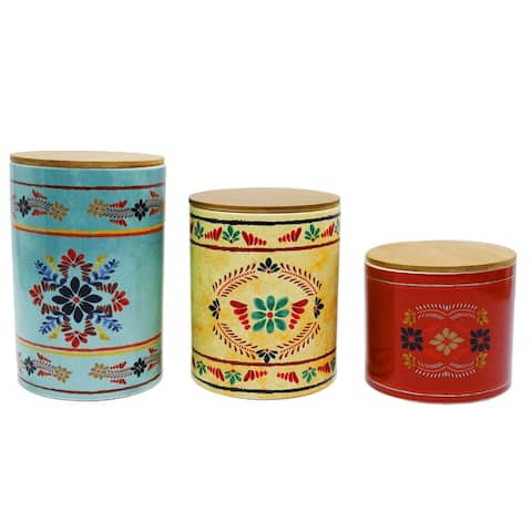 HiEnd Accents 3 PC Bonita Canister Set - N/A