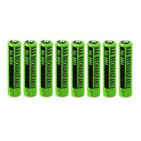 Replacement Panasonic NiMH AAA Battery for KX-TG4053B  /KX-TG7734S  /KX-TGE240B  Phone Models- 8Pk