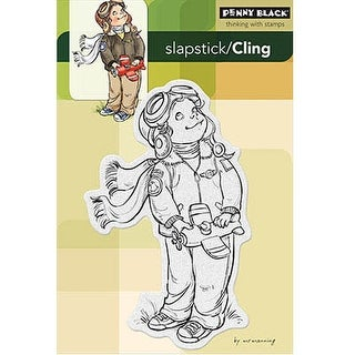 "Penny Black Cling Stamp 4""X6""-Air-Boy"