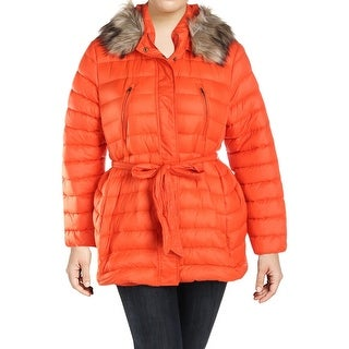Lauren Ralph Lauren Womens Plus Puffer Coat Winter Down - 1x