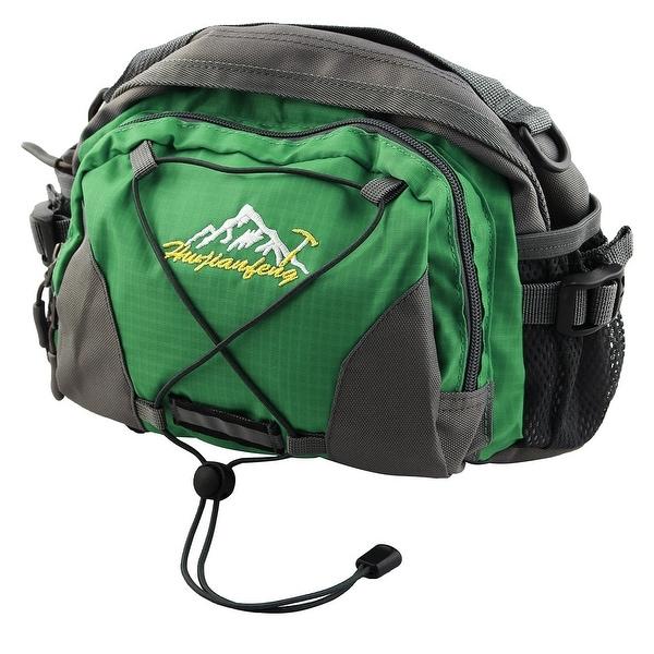 HWJIANFENG Authorized Single Shoulder Pack Adjustable Sports Waist Bag Green