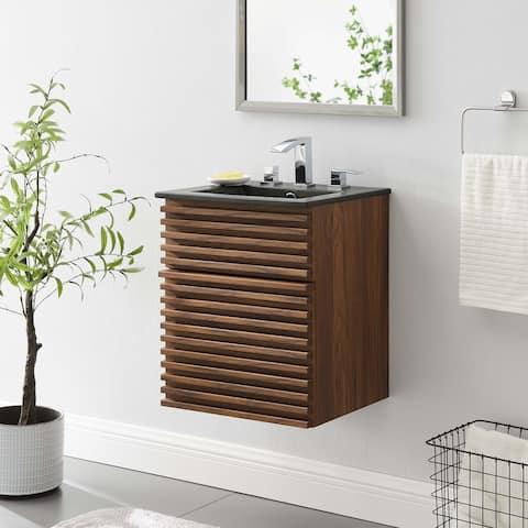 """Render 18"""" Wall-Mount Bathroom Vanity"""