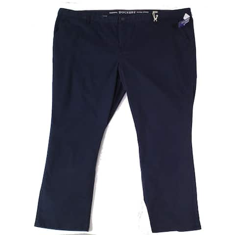 Dockers Mens Pants Blue Size 56X32 Big & Tall Tapered Chino Stretch