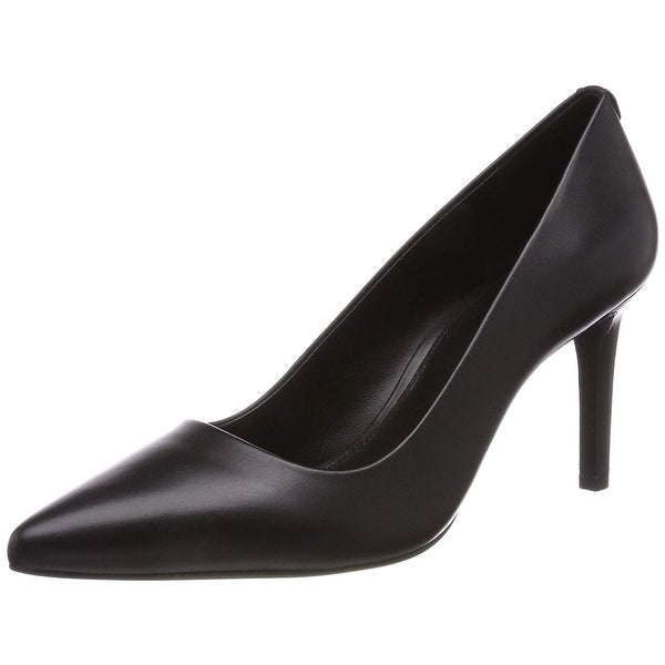 86d3ee0d7 Shop Michael Kors Womens Dorothy Leather Pointed Toe Classic Pumps ...