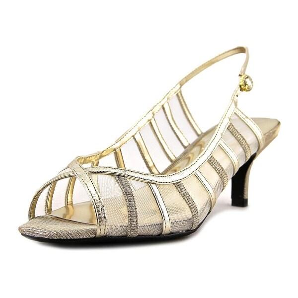 J. Renee Rebeka Women Open-Toe Synthetic Slingback Heel